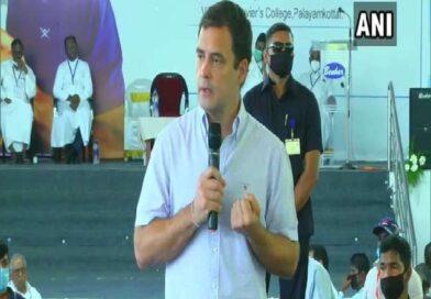तमिलनाडु में बोले अमित शाह: फूट डालो राज करो की राजनीति करते हैं द्रमुक और कांग्रेस