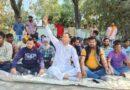 किच्छा के ग्रामीणों ने सड़क के लिए पर धरना दिया