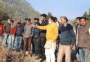 रामगढ़ में डिग्री कॉलेज हेतु जमीन चयन को किया निरीक्षण