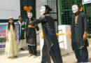 स्वयं सेवियों ने नुक्कड़ नाटक के माध्यम से किया जागरूक