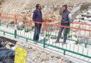 जिला पर्यटन अधिकारी ने किया विकास कार्यों का निरीक्षण