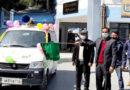 डीएम ने किया कोविड-19 वैक्सीन टीकाकरण वाहन को हरी झंडी दिखाकर रवाना