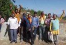 ऊर्जा निगम के खिलाफ ग्रामीणों का प्रदर्शन