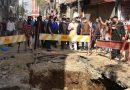 सीएम ने किया स्मार्ट सिटी के कार्यों का औचक स्थलीय निरीक्षण