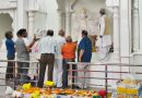 लक्ष्मी नारायण मंदिर में प्राण प्रतिष्ठा कार्यक्रम शुरू