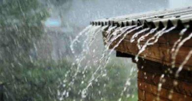 हल्की बारिश से मौसम हुआ सुहाना
