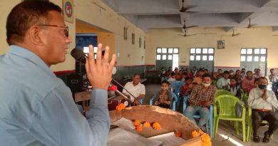 जनपद सम्मेलन में संस्कृत के प्रचार और प्रसार पर दिया जोर