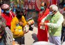 पंचायती अखाड़ा निरंजनी में गरीब जरूरतमंदों के लिए अन्नपूर्णा रसोई का शुभारंभ