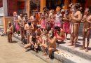 जूना अखाड़ा के संरक्षक व अखाड़ा परिषद महामंत्री ने किया नागा सन्यासियों संग गंगा स्नान