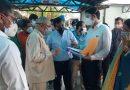 कोविड प्रभारी मंत्री भगत और अस्पताल संचालक में तीखी बहस