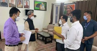 ऊर्जा निगमों में कार्यरत अभियन्ता अधिकारियों  ने मुख्यमंत्री से भेंट