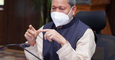 मुख्यमंत्री रावत ने की प्लाज्मा दान करने की अपील