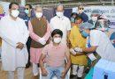 मुख्यमंत्री ने किया 18 से 44 वर्ष के लोगों के टीकाकरण अभियान का विधिवत शुभारंभ