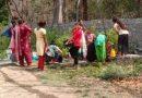 भाबर के उदयरामपुर और सनेह के लालपानी, नाथूपुर में पेयजल संकट