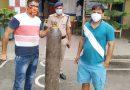 चार कोरोना संक्रमितों को सांस लेने में दिक्कत, पुलिस ने उपब्ध कराये ऑक्सीजन सिलेंडर