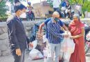 20 जरूरतमंद परिवारों को बांटा राशन