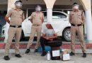 5 लीटर कच्ची शराब के साथ एक गिरफ्तार