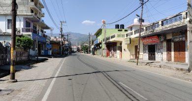 कोरोना कफ्र्यू: कोटद्वार शहर में पसरा रहा सन्नाटा