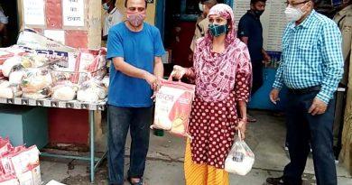 भारत विकास परिषद आया जरूरतमंद लोगों की मदद के लिए आगे