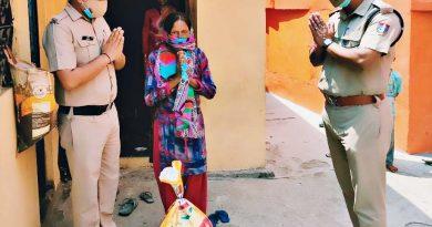 मिशन हौंसला के तहत सतपुली पुलिस ने दिया जरूरतमंदों को राशन