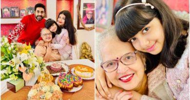 ऐश्वर्या राय बच्चन ने अपनी मां का 70वां बर्थडे सेलिब्रेट किया अभिषेक और आराध्या के साथ, शेयर की फोटो