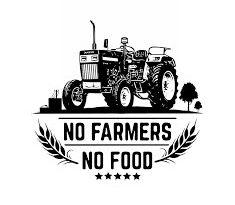 किसानों के समर्थन में वाम संगठनों ने दिखाये काले झंडे