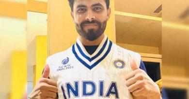 रविंद्र जडेजा ने शेयर किया डब्ल्युटीसी फाइनल मे भारतीय टीम की जर्सी का विंटेज लुक