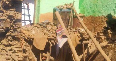 मलेथा में मकान टूटा, दबकर महिला की मौत