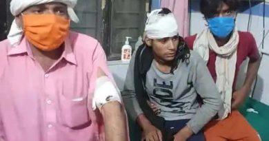 ईंट भट्ठे पर मजदूरों में हुआ संघर्ष , चार घायल