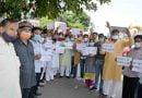 आपातकाल की बरसी पर भाजपा कार्यकर्ताओं ने मनाया काला दिवस