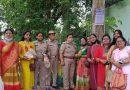 श्री वैश्य बंधु समाज मध्य हरिद्वार महिला विंग की सदस्यों ने वितरित किए फल व जूस
