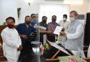विधायक सुरेश राठौर के नेतृत्व में सीएम से मिले व्यापारी
