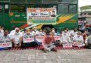 पेट्रोल और डीजल के बढ़ते दामों के खिलाफ कांग्रेस का पेट्रोल पंपों पर सांकेतिक धरना