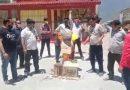 ब्रहम कपाल तीर्थ पुरोहित समिति ने जलाया पर्यटन मंत्री का पुतला
