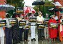 तीरथ सरकार के 100 दिन बेकार को लेकर आप कार्यकर्ता ने किया प्रदर्शन