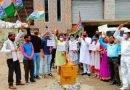 भाजपा सरकार का जलाया पुतला
