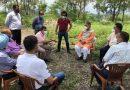 उच्च स्तरीय समिति ने किया सैन्यधाम हेतु आवंटित भूमि का मौका मुआयना