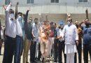 नई एसओपी से खफा व्यापारियों व कांग्रेस ने फूँका प्रदेश सरकार का पुतला