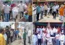 महंगाई और भ्रष्टाचार के विरोध में कांग्रेस का प्रदर्शन
