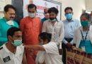 वैक्सीनेशन शिविर में 350 को लगायी वैक्सीन