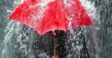 मौसम विभाग की आकाशीय बिजली चमकने, भारी बारिश की चेतावनी