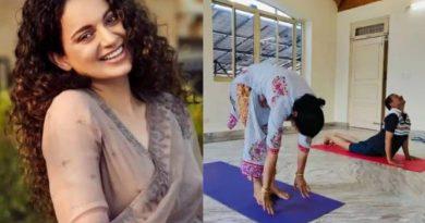 अंतर्राष्ट्रीय योग दिवस स्पेशल-कंगना ने योग की मदद से अपनी मां को हार्ट सर्जरी से बचाया, और शेयर की ये इंस्पायरिंग स्टोरी