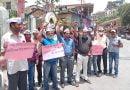 राज्य आंदोलनकारियों के हितों की रक्षा हेतु आम आदमी पार्टी ने किया विरोध प्रदर्शन