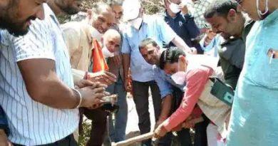 ज्यूंदाणा-कोठार गांव मोटर मार्ग का निर्माण कार्य शुरु –