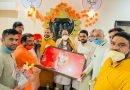 संतों ने दिया केंद्रीय राज्य मंत्री अजय भट्ट को आशीर्वाद