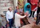 कैबिनेट मंत्री ने किया मंदिर का भूमि पूजन