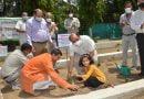 हरेला पर्व के अवसर पर बीएचईएल में किया गया पौधरोपण