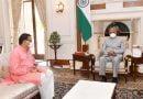 राष्ट्रपति कोविंद से मिले सीएम धामी