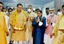 सीएम ने किया मुख्यमंत्री कैंप कार्यालय में पूजा अर्चना कर कार्य का शुभारंभ