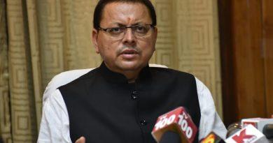 मुख्यमंत्री धामी ने की नई दिल्ली स्थित उत्तराखण्ड सदन में मीडिया संग वार्ता